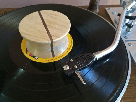 Vinyl Record Weight Stabilizer Clamp Dampener Hand