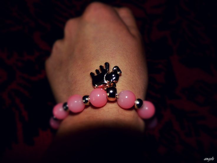 my favorite <3 #elephant #bracelet #pink #sweet