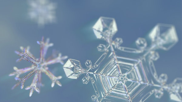 """Snowflake close-up in """"Frozen Planet""""  Sacred Geometry    <3 Peace :-)"""
