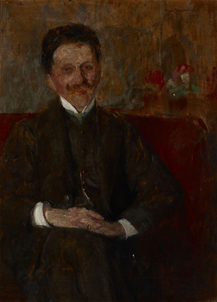 Plga Boznańska, Portret Władysława Chmielarczyka