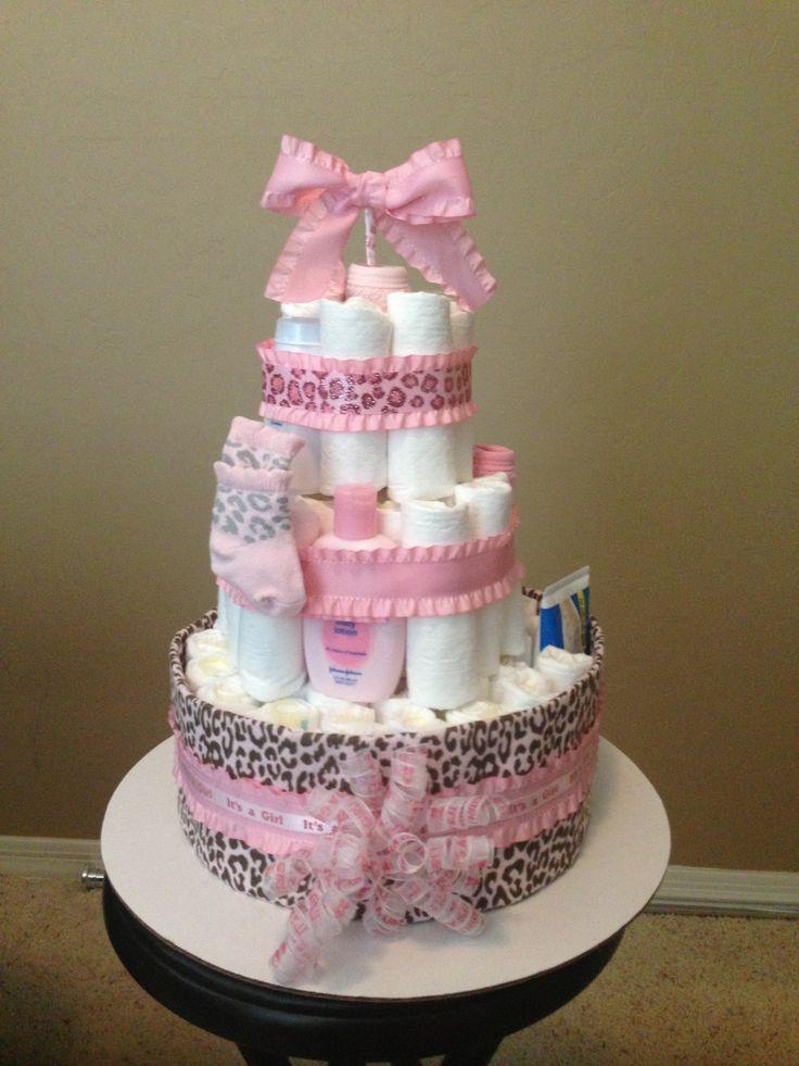 Towel Cake Ideas Pinterest