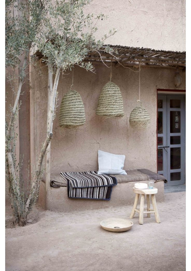 hanging lamp with fringes