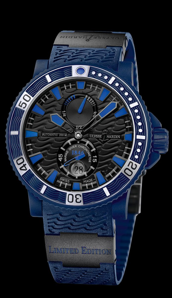 263-97LE-3C • Blue Sea • Limited Editions • Welcome to the Ulysse Nardin collection • main•Ulysse Nardin•Le Locle•Suisse•Swiss Mechanical Watch Manufacturer