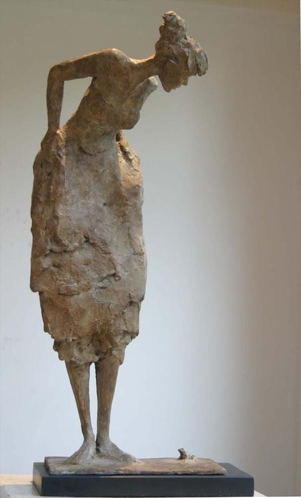 ☥ Figurative Ceramic Sculpture ☥ Bob Quinn