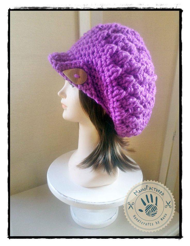 Geneva crochet cap by ManoFactured on Etsy