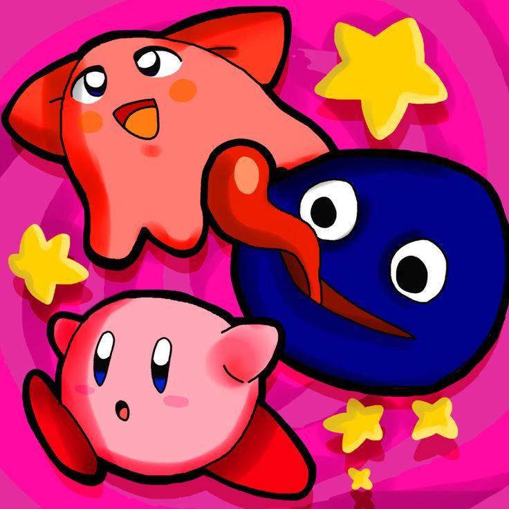 Kirby Dream Land's 3 Friends by ~SparkusThunderbolt on deviantART