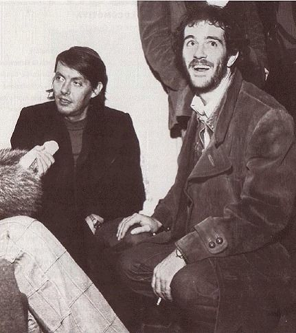 Fabrizio De André with Francesco De Gregori