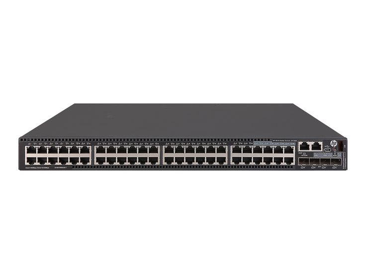 The HPE FlexNetwork 5510 HI Switch Series delivers outstanding resiliency, security, and multiservice support for medium and large enterprise networks. This switch includes enterprise-class QoS; dual, redundant power supplies with support for PoE+; 10GbE and 40GbE uplinks; 9 chassis IRF stacking; Static & RIP Routing, MACsec, OSPF, IPv6 and Energy Efficient Ethernet. https://racksimply.com/shop/networking/network-hubs-switches/hpe-5510-48g-poe-4sfp-hi-1-slot-switch/  #RackSimply…