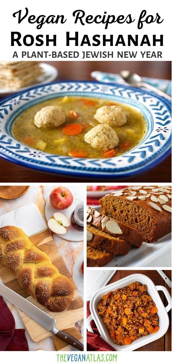 Rosh Hashanah Vegan Jewish New Year Recipes Menus In 2020 Vegan Holiday Recipes Vegan Dessert Recipes Recipes