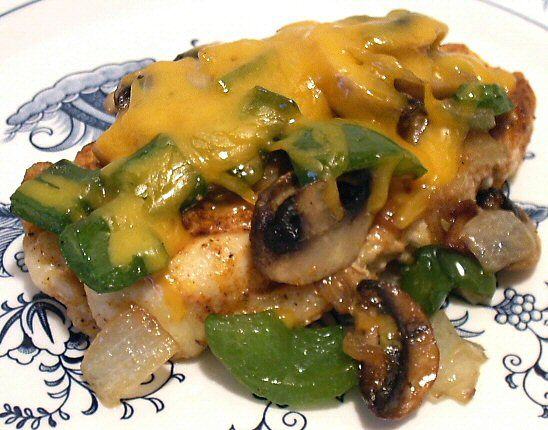 "GRILLED ""SMOTHERED"" CHICKEN  This looks so good, that I've decided to add it to our menu this week :-)"