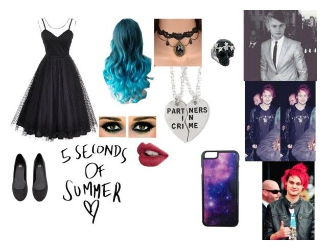 """""""date with micheal clifford"""" by scarlet-snow ❤ liked on Polyvore"""