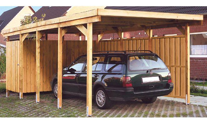 Carport Bauen Holz In 2020