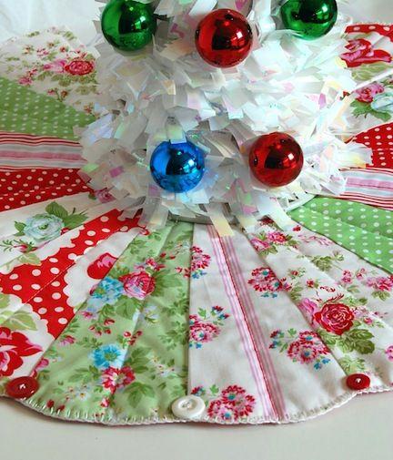 21 Christmas Tree Skirts to Make