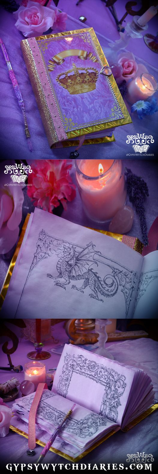 Fairytale Book of Shadows / Fantasy Diary / Fairytail