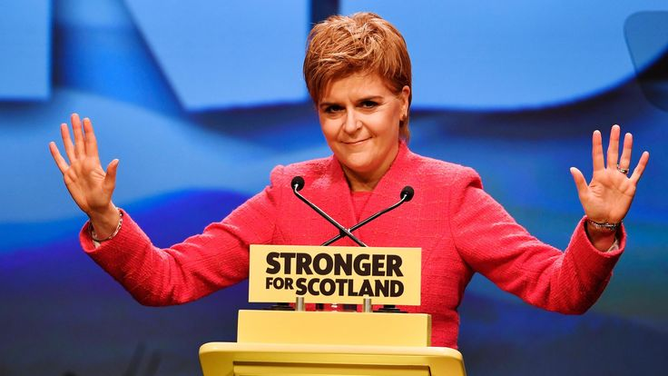 "Nicola Sturgeon's march to independence has stalled, reveals a new poll held after she announced her intention to stage a second referendum on whether Scotland should remain in the UK.  While activists at yesterday's SNP conference were confident of a lift in support for a ""yes"" vote, the latest Panelbase survey for The Sunday Times and LBC puts backing for a split at 44% — one point lower than in the 2014 referendum."