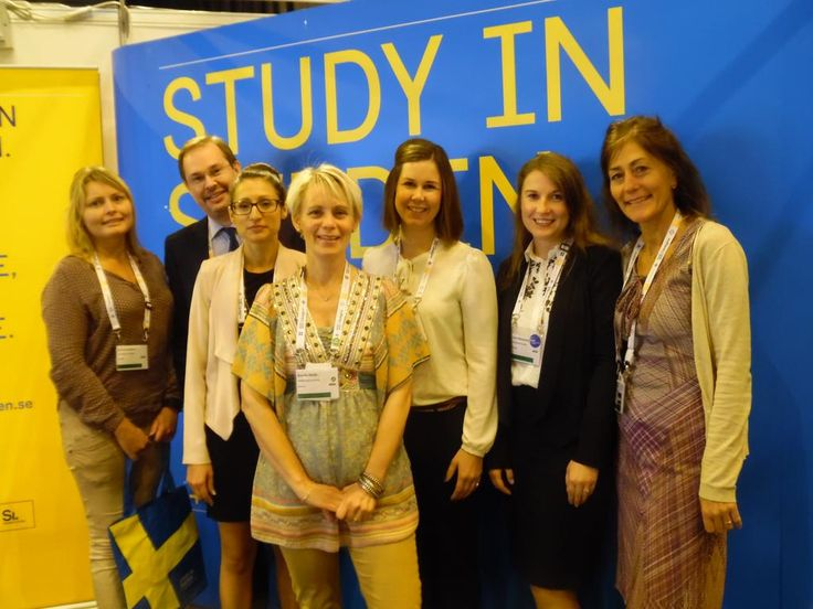 Working at EAIE, Europe's largest international higher education conference, in Glasgow.