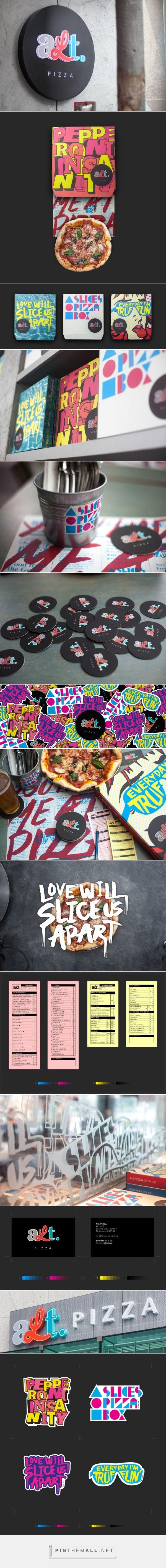 ALT. Pizza Branding by Bravo »  Retail Design Blog - created via https://pinthemall.net