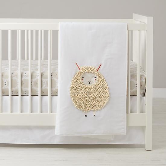 Sheepish Baby Bedding