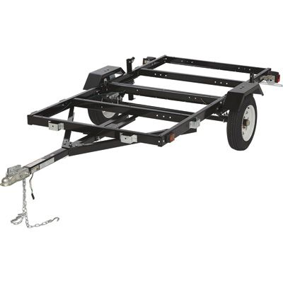folding utility trailer kit 1170 lb load capacity