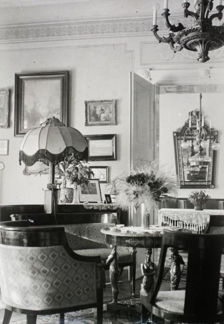 Budapest, 1935 Úri utca 19., Neÿ Ákos MÁV-igazgató lakása. Buzinkay Géza/Fortepan