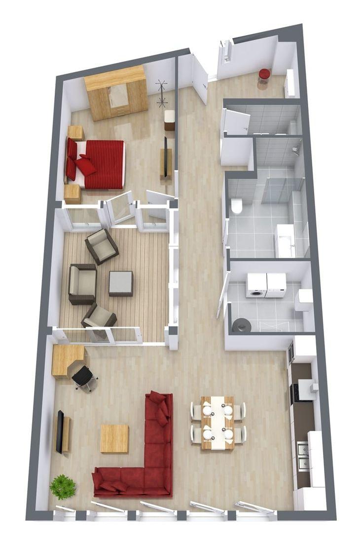 18 best downtown penthouses stuttgart images on pinterest floor plan of our 1 bedroom luxury serviced apartment in downtown stuttgart