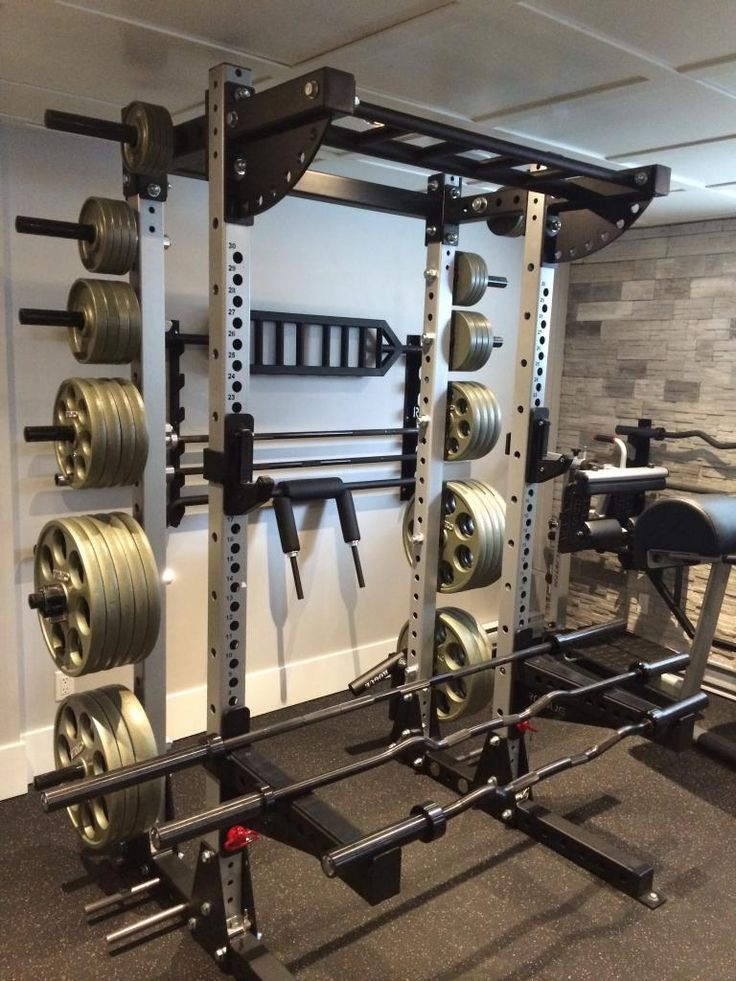 Beautiful Power House Home Gym
