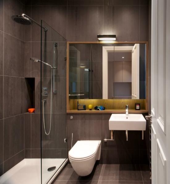 Дизайн ванной с душевым уголком фото