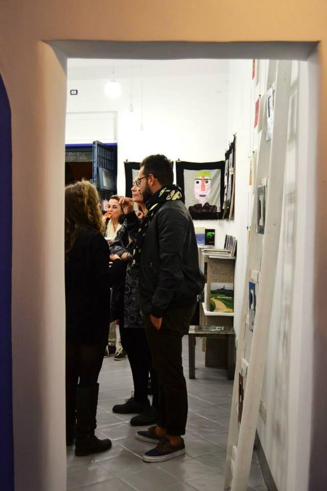 1/11/2014 - inaugurazione spazio galleria Parione9