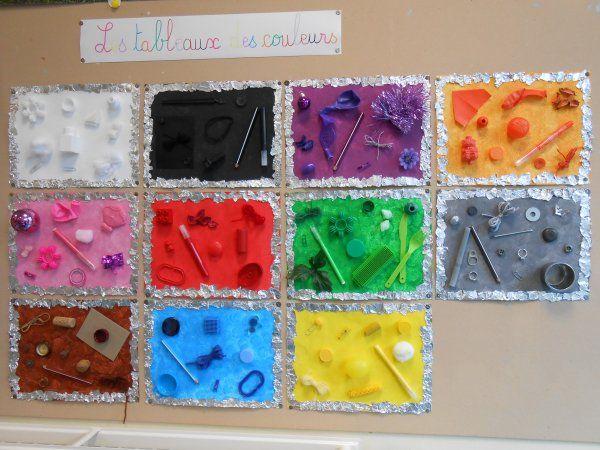 Les tableaux des couleurs - La Petite Section toute en couleurs - JB Vatelot
