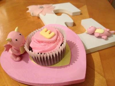 #CupcakeTopper for Baby Evelyn #deeconstructed #whiskuponastar