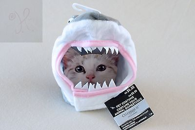 CELEBRATE IT - CAT DOG PET SHARK HALLOWEEN COSTUME CLOTHING PARTY GRAY ONE SIZE