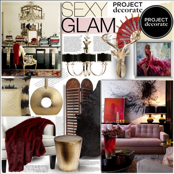 247 best polyvore project decorate images on Pinterest | Homes ...