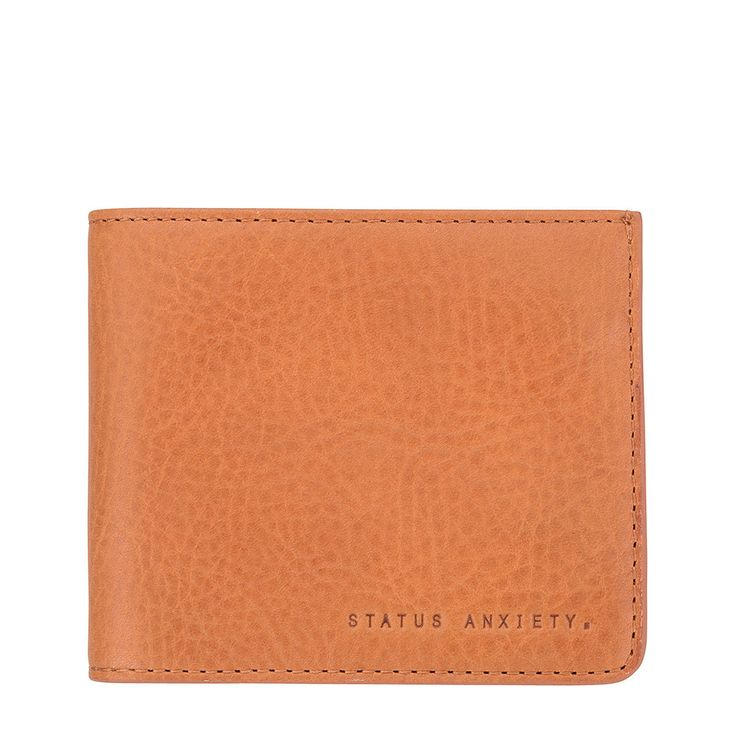Amos Wallet - Tan by Status Anxiety