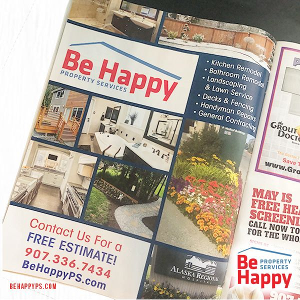 Did You See Our Full Page Ad In The Good Deal Magazine Anchoragebusiness Anchoragesmallbusiness Propertyservices Handyman Services Handyman Snow Removal