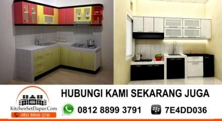 Kitchen Set Bintaro Hub 0812 8899 3791 BB 7E4DD036: Kitchen Set Murah Minimalis Bintaro