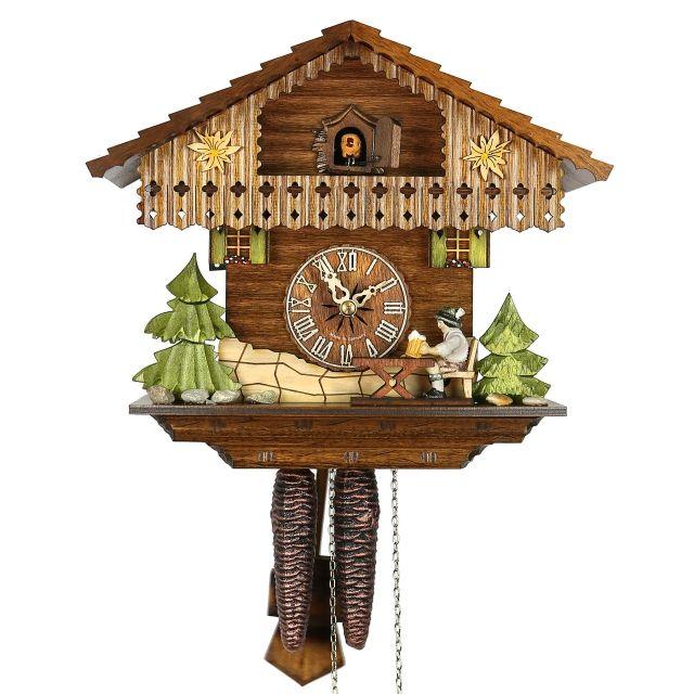 Original Cuckoo Clock Chalet Beerdrinker - Kuckucksuhren Shop - Original Kuckucksuhren aus dem Schwarzwald
