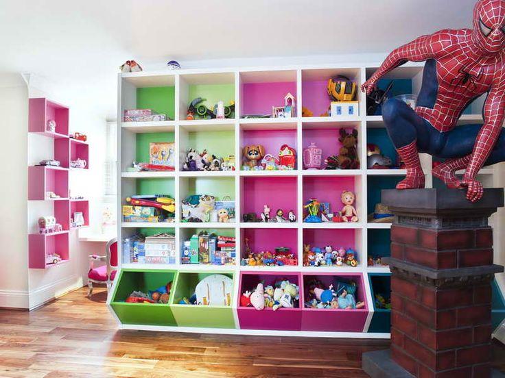 1000 ideas about childrens storage units on pinterest - Idee rangement chambre enfant ...