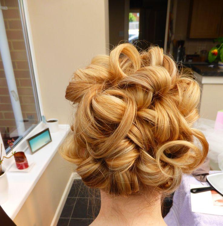 Bridal Trial Hair Up www.hairbynickymckenzie.co.uk