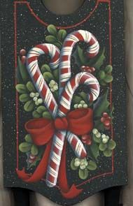 Christmas,hand painted ornaments,lee wismer,decorative painting