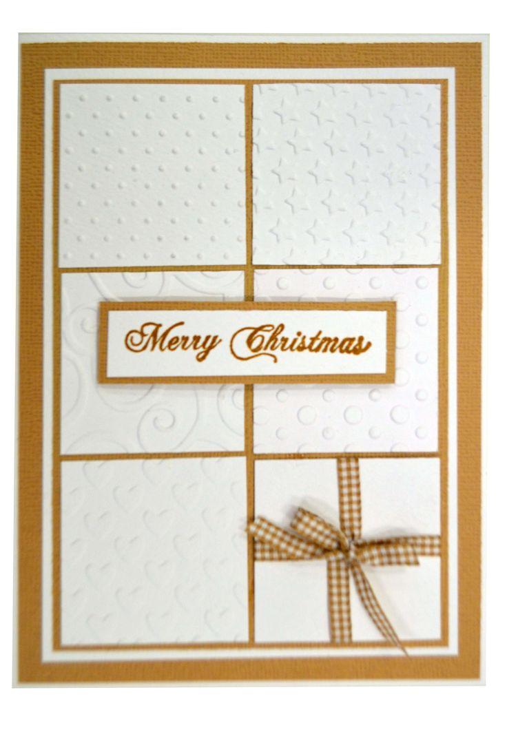 Squares Christmas Card