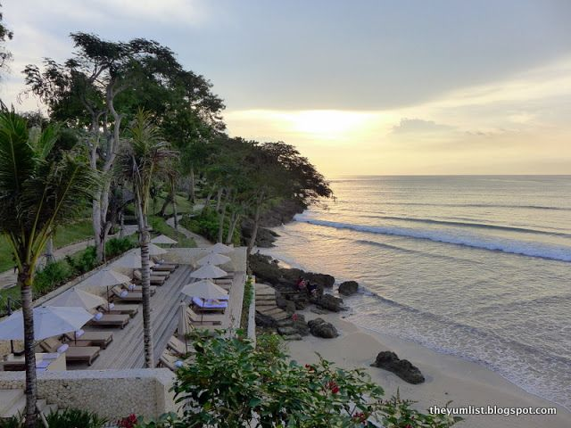 """Probably the best sunset drinks in Bali. Unmissable experience. Don't take my word for it, just go and try for yourselves!"" by The Yumlist Blogspot"