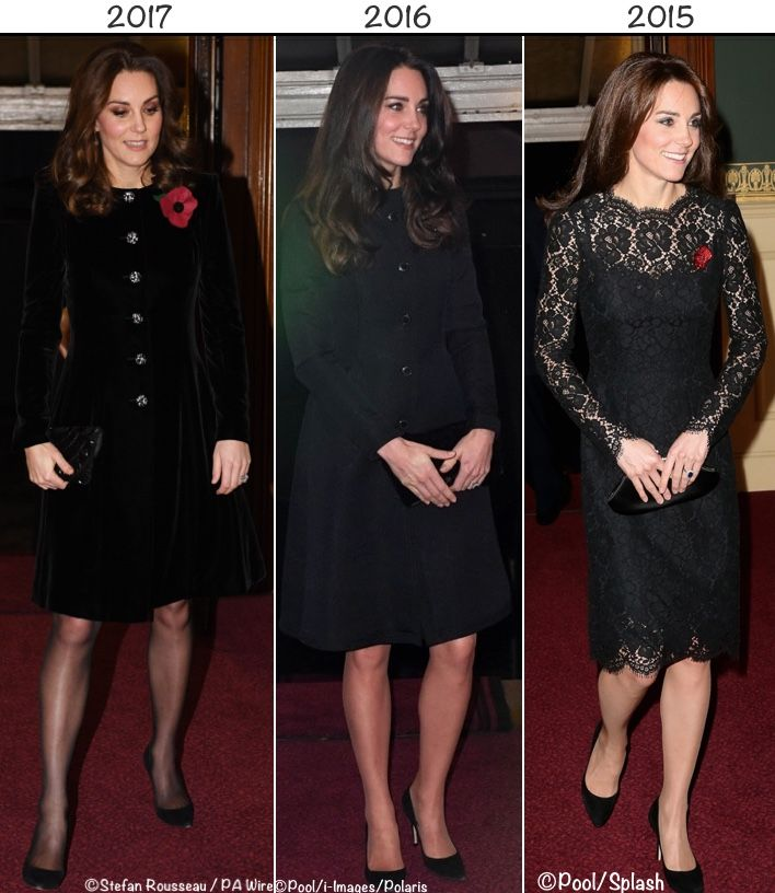 Kate wore a new coat by Catherine Walker for tonight's Festival of Remembrance at Royal Albert Hall. She joined the Queen, Prince Philip and a host of other royals for the performance. More about the event via the Royal Albert Hall website: The Festival of Remembrance, held in honour of those who have given their lives in the …