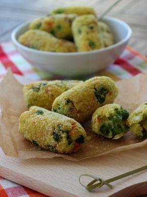 crocchette di patate e verdure