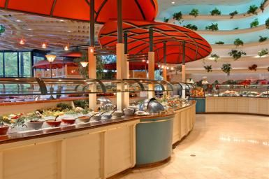 The details on the least expensive buffets in Las Vegas. If you want a cheap buffet, Las Vegas still has a few of them.
