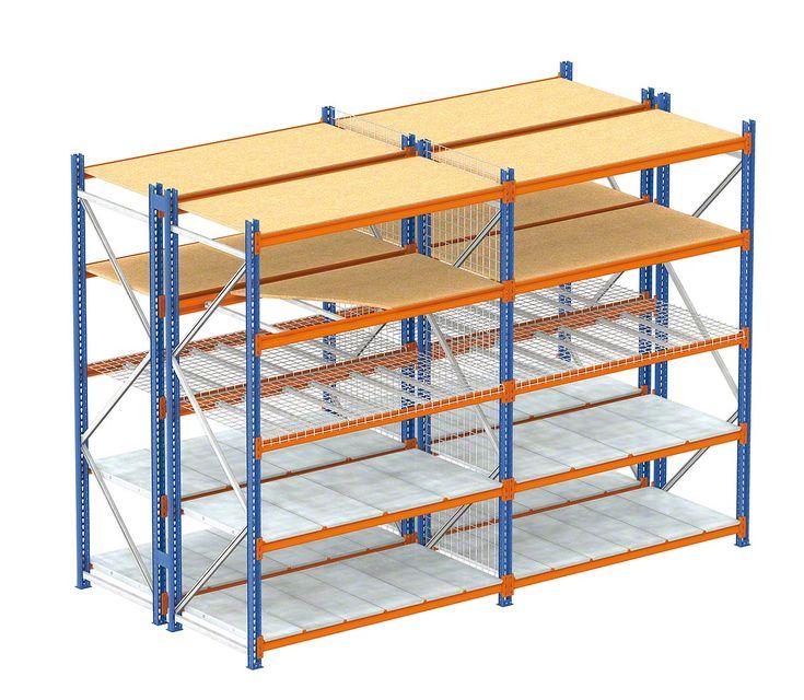 Raft depozitare Midirack cu polite | Rafturi depozitare | Rafturi metalice online · Rafturi magazin · Rafturi depozitare · Mobilier comercial