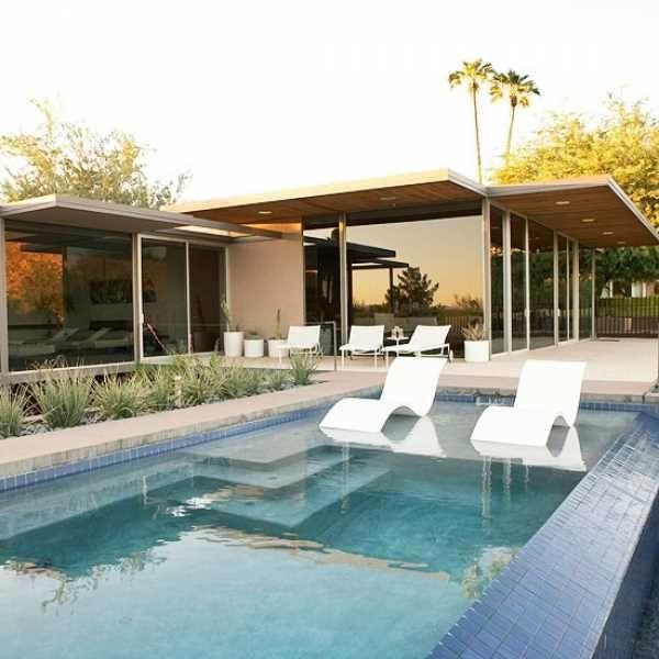 128 besten Indoor outdoor spaces Bilder auf Pinterest - garten mit pool gestalten
