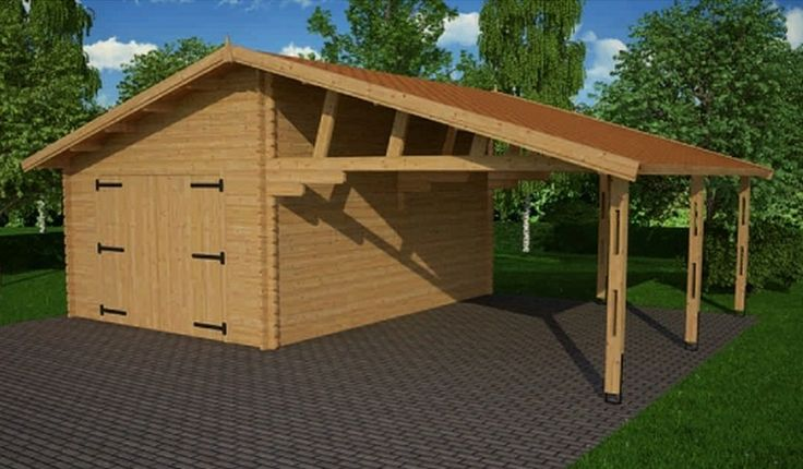 23 best garage in legno garage prefabbricati in legno - Garage prefabbricati in legno ...