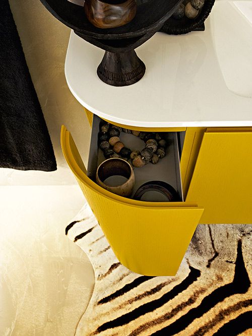 Gorgeous Yellow Bathroom Vanity by Cerasa: http://www.cerasa.it/preview_composizione.php?Main=1=9