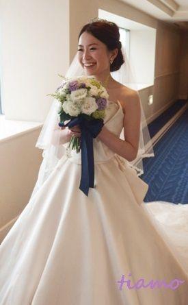 お洒落で可愛い花嫁さまの素敵な一日♡ の画像|大人可愛いブライダルヘアメイク『tiamo』の結婚カタログ