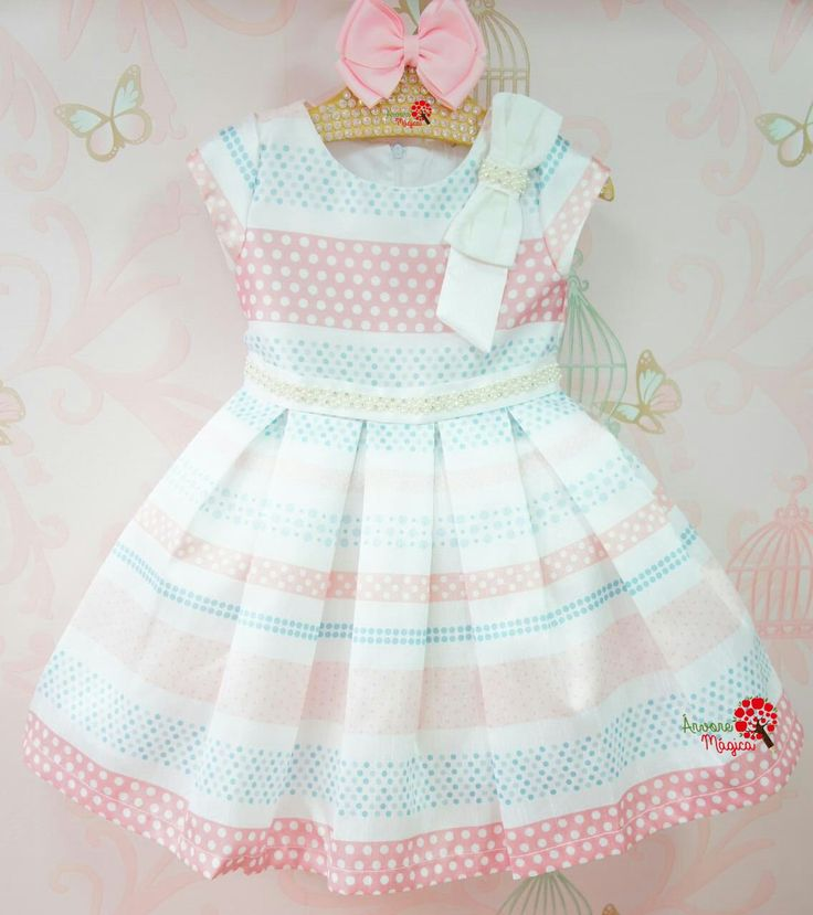 Vestido de Festa Infantil Emília Petit Cherie